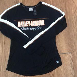 NWOT Harley Davidson Silky Top Size Large